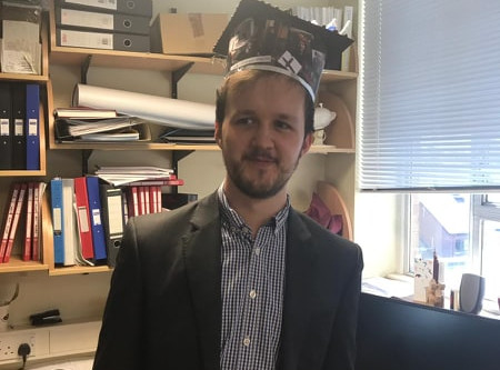 Congratulations to Dr Jake Greenfield