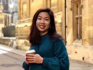 Congratulations to Pei Zhen See for finishing her MPhil
