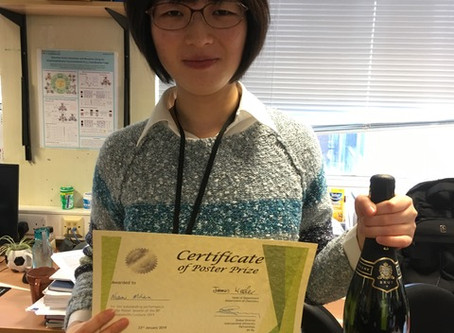 Dr Nozomi Mihara wins Poster Prize on BP Sustainability Lecture Event.