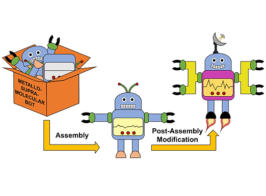 132. Covalent post-assembly modification in metallosupramolecular chemistry