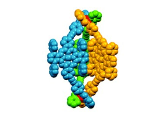 134. A giant M2L3 metallo-organic helicate based on phthalocyanines as a host for electroactive molecules