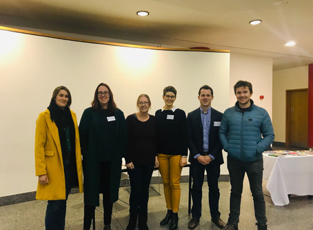 Nitschke group at MASC 2018: poster prize for Marion and talk from Ben
