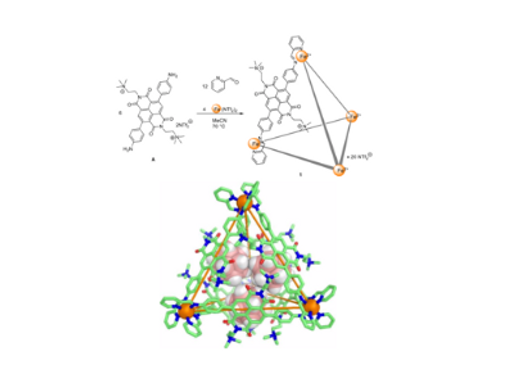 161. Reversible Reduction Drives Anion Ejection and C60 Binding within a FeII4L6 Cage