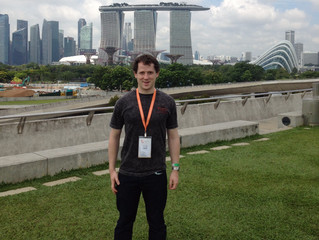 Ben Pilgrim represents Cambridge at the Global Young Scientists Summit
