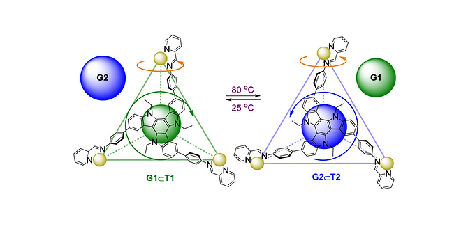 158. Temperature Controls Guest Uptake and Release from Zn4L4 Tetrahedra