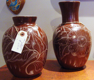 Hand-painted Vases