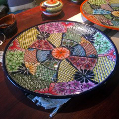 Detailed Serving Platter