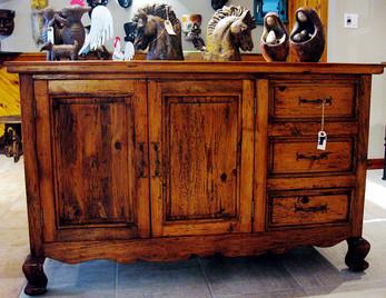 Reclaimed Pine Sideboard