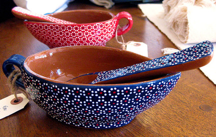 Hand-Painted Salsa Bowls