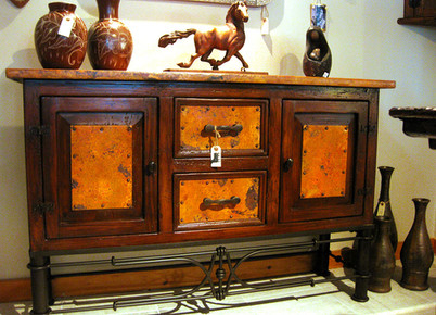 Sideboard in Reclaimed Antique Pine