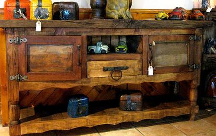 Reclaimed Rustic Pine Sideboard