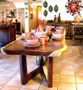 Parota Live Edge Dining Table
