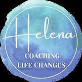 Logo Coaching Life Changes Helena Theunissen, moře osobního rozvoje