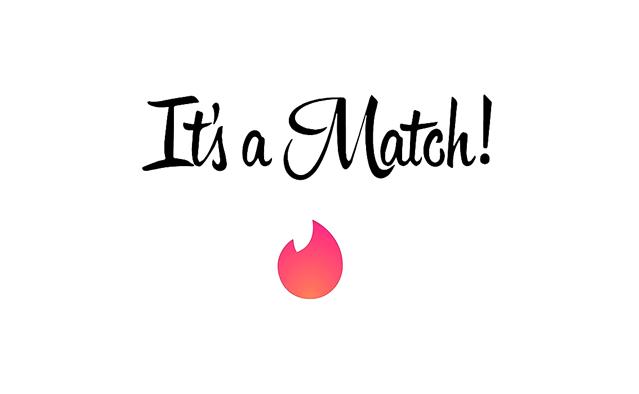 Tinder Match sign