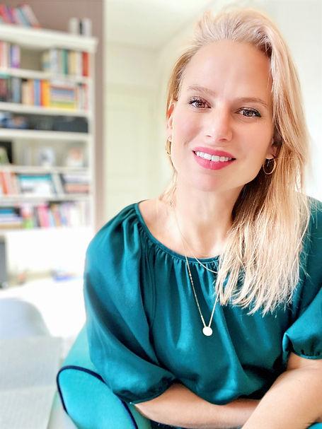 Osobní koučka a mentor Helena Theunissen, přátelský kouč