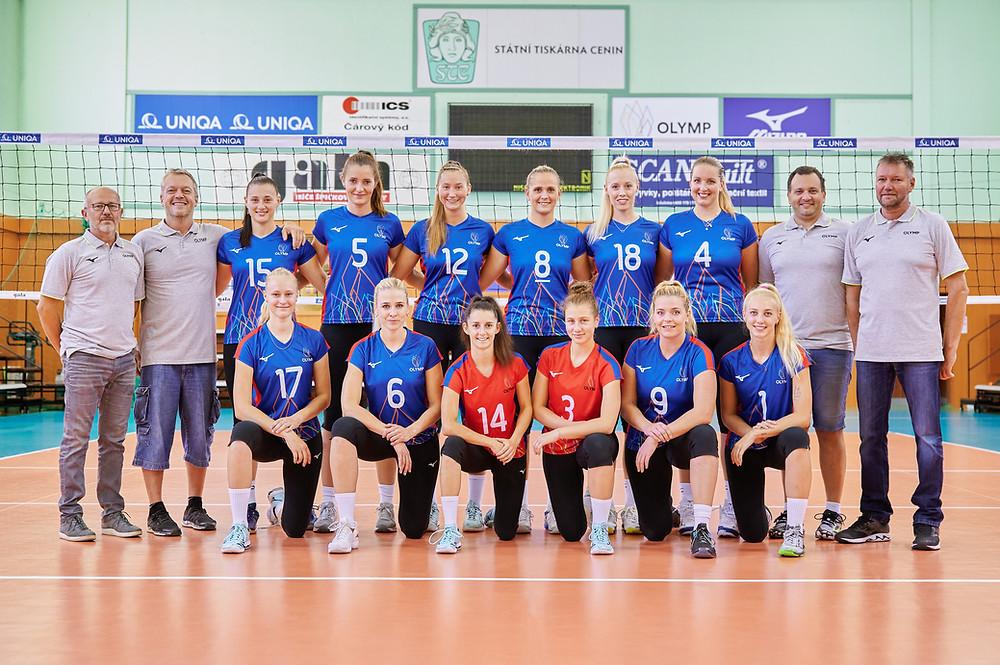 ženský volejbalový tým