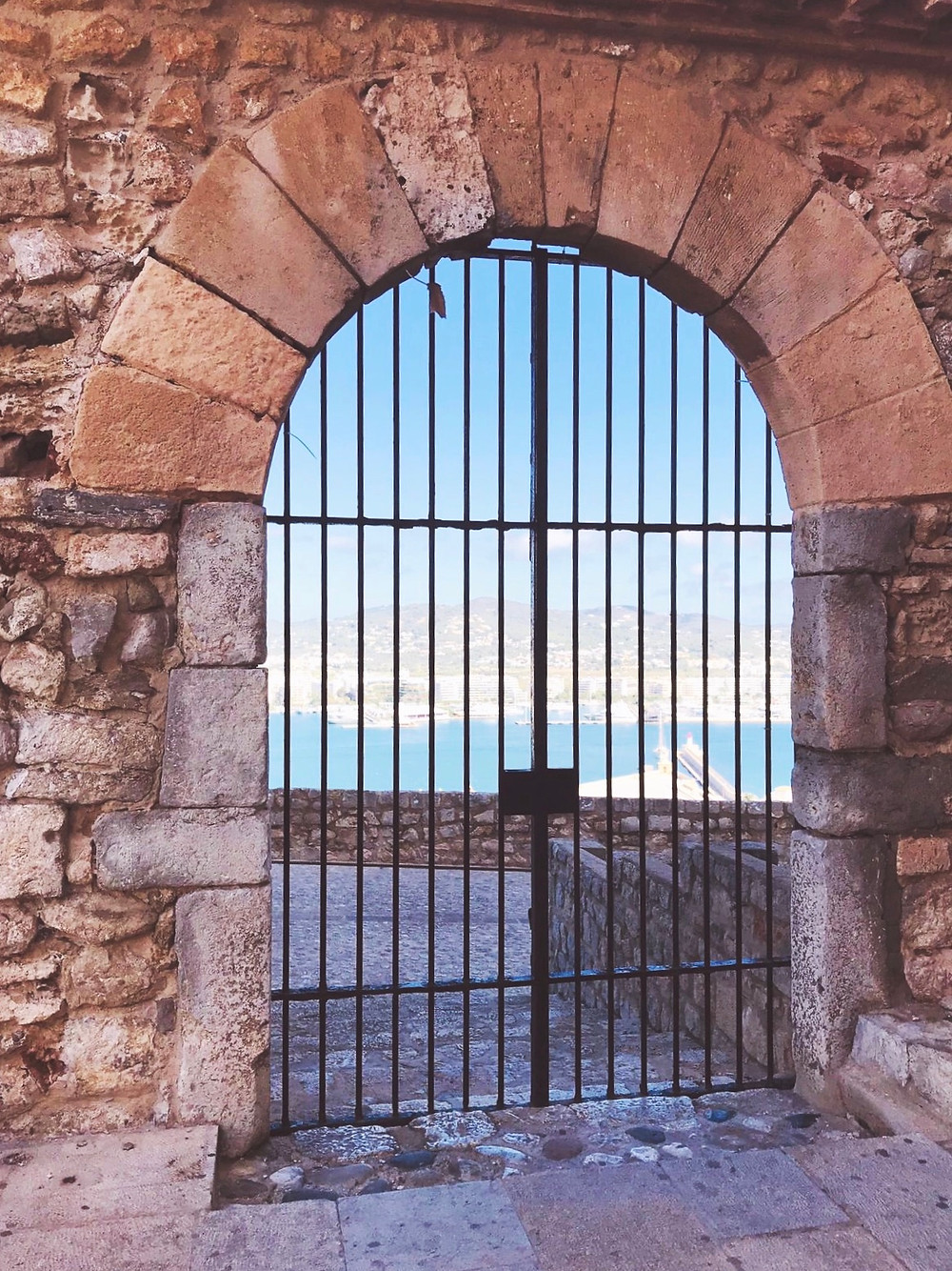 gate in fortress