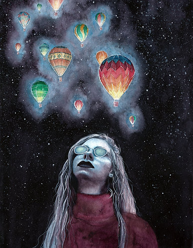 Wayward Sky | Watercolor Painting