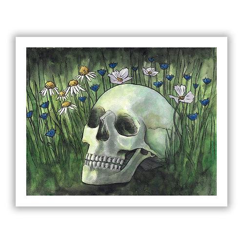 Fertilized by Misfortune - Giclee Print