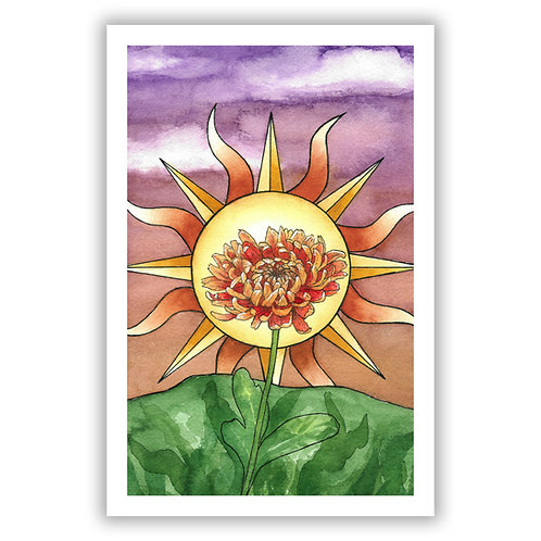 'The Sun' Tarot - Giclee Print