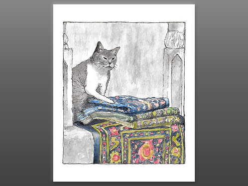 Khajiit has Wares - Embellished Giclee Print
