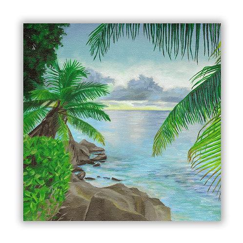 Coastal Escape | Oil Painting