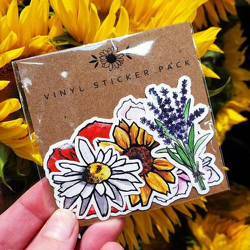 Flower - Matte Sticker Pack
