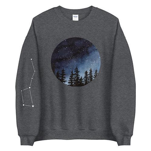 'Night Sky Constellation' Unisex Sweater