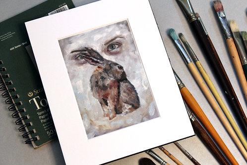 Tortoise & the Hare - Giclee Print