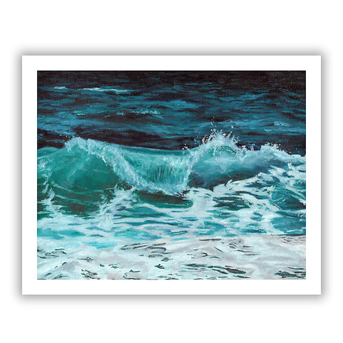 Cresting Wave - Giclee Print