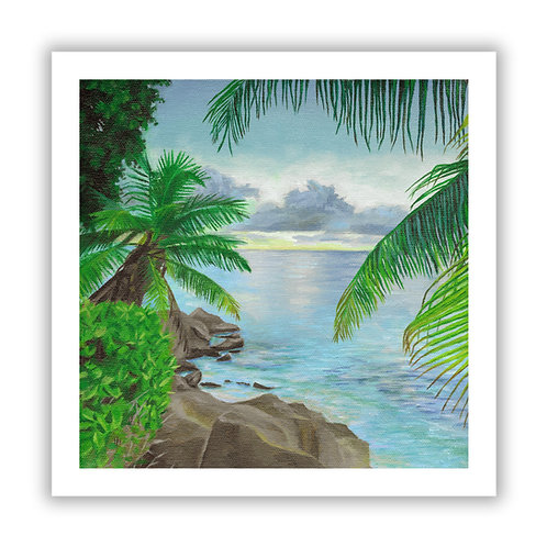 Coastal Escape - Giclee Print