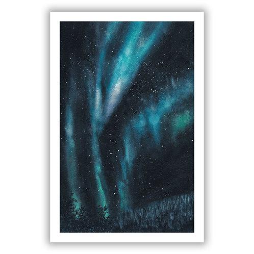 Aurora Borealis - Giclee Print