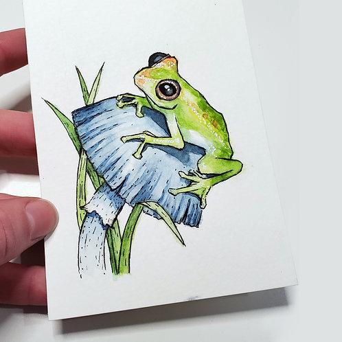 Hopscotch | Watercolor Painting