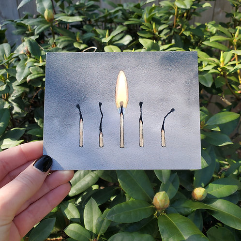 'Light of my Life' Postcard