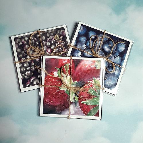 Berries - Giclee Print Pack