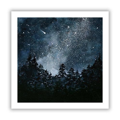 Night Sky - Giclee Print