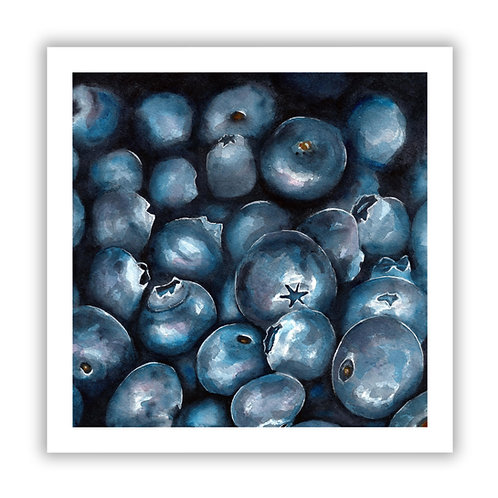 Blueberries - Giclee Print