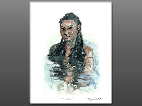 Mermaid - Giclee Print
