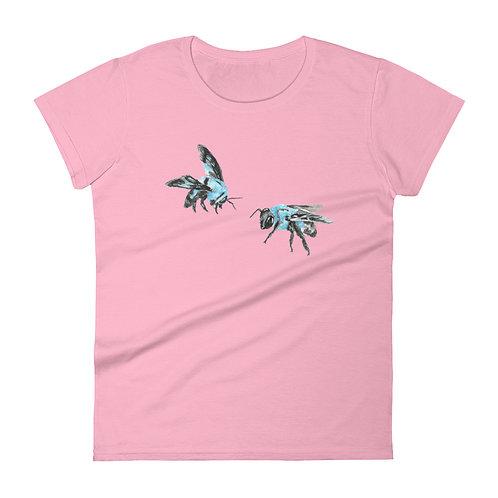'Blue Bees' Women's Fit T-Shirt