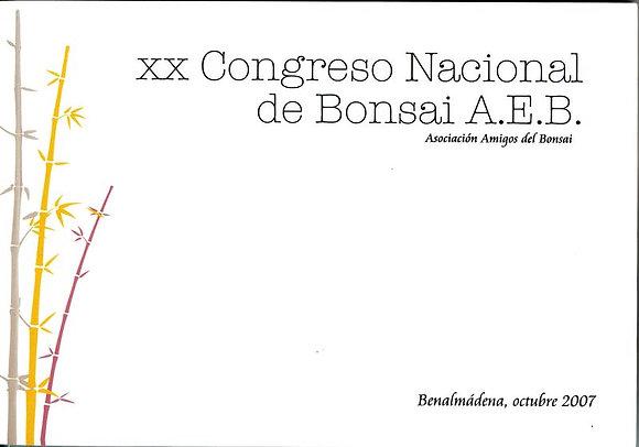 XX CONGRESO NACIONAL DE BONSAI A.E.B.