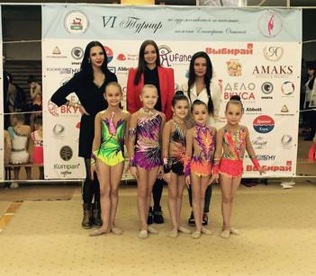 VI межрегиональный турнир памяти Е.И Огинской по художественной гимнастике