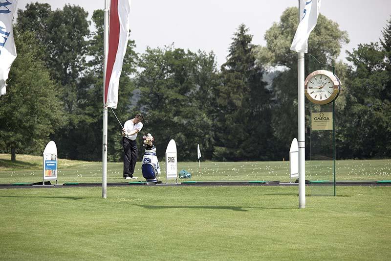 Grosszügige Golfanlage