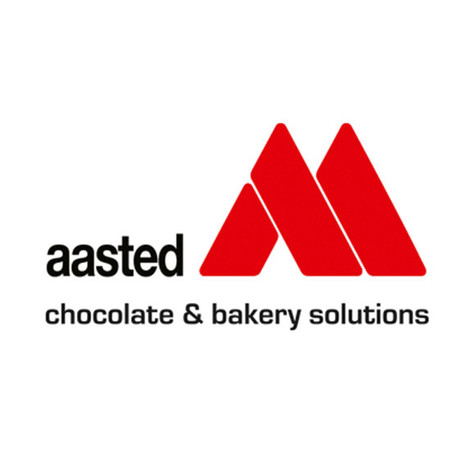 - AASTED BAKERY -  EQUIPMENT FOR THE PRODUCTION AND REFINEMENT OF BAKERY PRODUCTS  Extruding and depositing systems Stencil depositing equipment Tunnel convection ovens Chocolate tempering machines Chocolate enrobing equipment Cooling tunnels