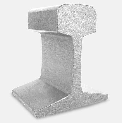 Eisenbahnschienenstücke als Gewichte / Railway pieces  as weights