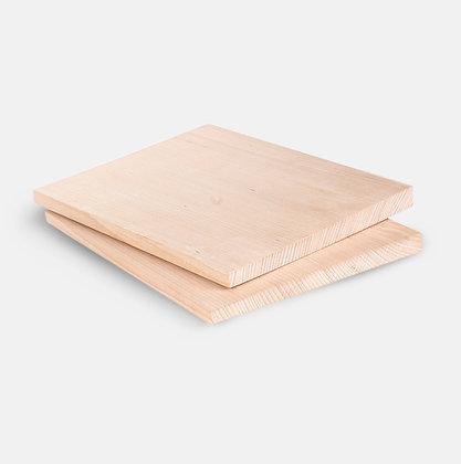 2 konische Holzbretter 40 cm