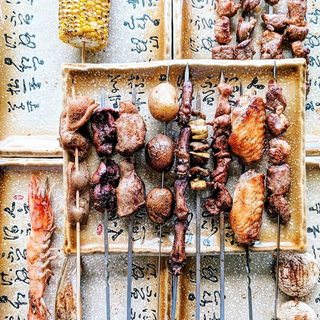 Assortment of BBQ Skewers