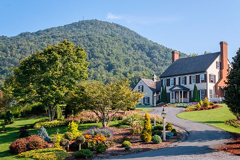 The Stanley home at the foot of Howard's Knob in Boone, NC.