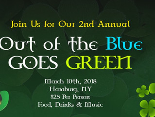 2nd Annual Out of the Blue Goes Green Party