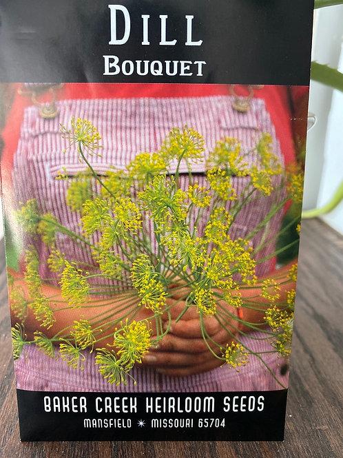Baker Creek Heirloom Seeds - Dill - Bouquet