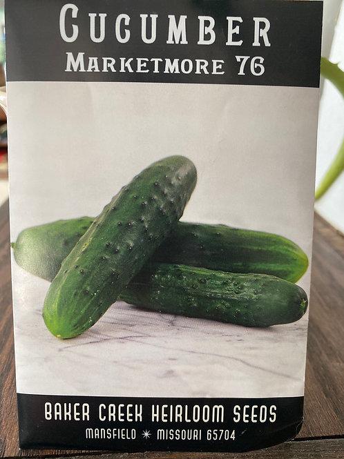 Baker Creek Heirloom Seeds - Cucumber - Marketmore 76